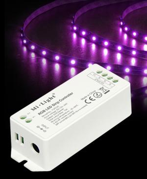 RGB контролер, 1 канал, 2.4 GHz, 4x6A