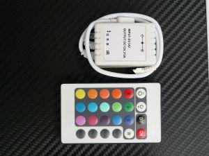 RGB  контролер с IR 24 бутона дистанционно