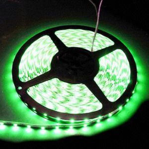 Силикон, зелена, 60 диода/метър
