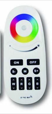 Дистанционно с бутони за RGBW контролер 4 зони, 2.4 GHz